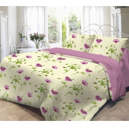 фото Комплект постельного белья Нежность «Весна». 1,5-спальный