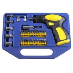 Купить Отвертка реверсивная с набором бит и торцевых головок Stayer Profi 25481-H30