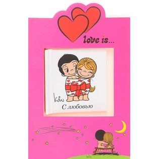 Купить Love is… С любовью (+ открытка)