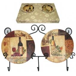 Купить Набор из 2-х тарелок Elan Gallery «Натюрморт»