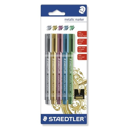 Купить Набор цветных маркеров Staedtler 8323-SBK5