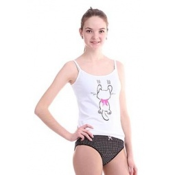 фото Комплект нижнего белья для девочки Свитанак 207475. Рост: 158 см. Размер: 40