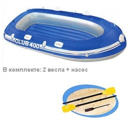 Купить Лодка надувная Intex «Клуб 200» 58317