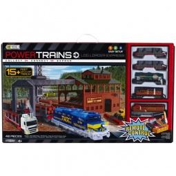 Купить Железная дорога Powertrains&Constructions «Лесопогрузчик»