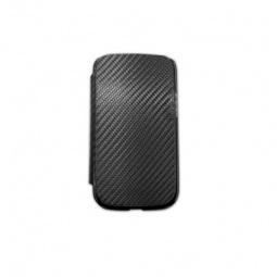 фото Чехол для Galaxy S III Nova Flip-Side. Материал: карбон