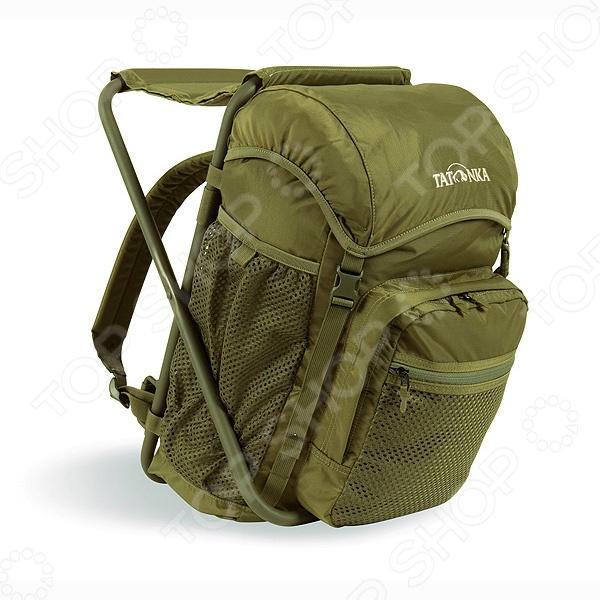 Стул-рюкзак для рыбалки Tatonka Fischerstuhl Стул-рюкзак для рыбалки Tatonka Fischerstuhl /Оливковый