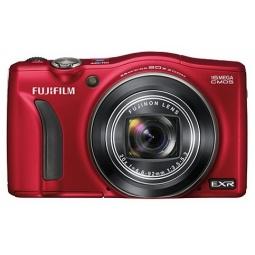 фото Фотокамера цифровая Fujifilm FinePix F750EXR. Цвет: красный