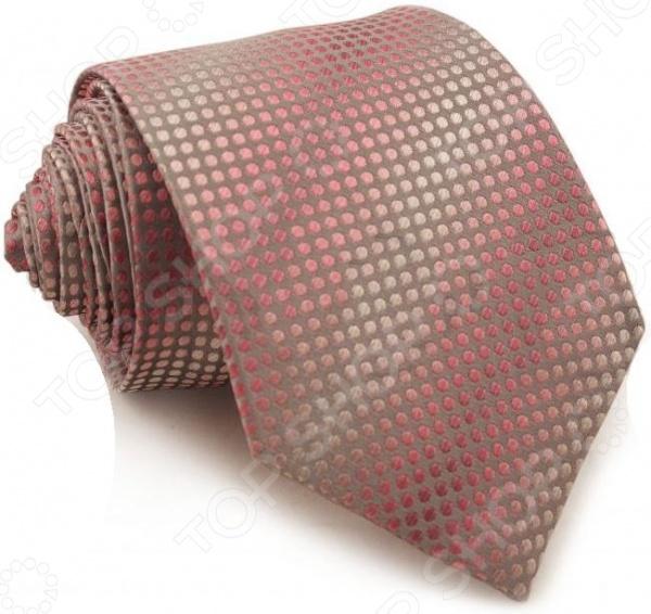 Галстук Mondigo 44137Галстуки. Бабочки. Воротнички<br>Галстук Mondigo 44137 завершающий штрих в образе солидного мужчины. Сегодня классический стиль в одежде приветствуется не только на работе в офисе. Многие люди предпочитают в качестве повседневной одежды костюм или рубашку с галстуком. Мужчина, выбирающий такой стиль в одежде, всегда выделяется среди окружающих и производит положительное первое впечатление. Кроме того, один и тот же галстук можно носить по-разному каждый день. Достаточно выбрать один из многочисленных типов узлов: аскот, балтус, кент, пратт и многие другие. Кстати, в интернете есть сайты, которые случайным образом предлагают вариант узла удобно, когда трудно определиться с выбором . Галстук изготовлен из шелка. Ткань довольно прочная, приятная на ощупь и отличается роскошным блеском. С обратной стороны галстук прострочен шелковой ниткой, что позволяет регулировать длину изделия.<br>