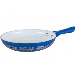 Купить Сковорода Pomi d'Oro «Вологодское кружево». Цвет: синий