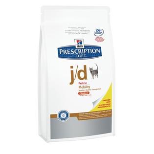 Купить Корм сухой диетический для кошек Hill's J/D Prescription Diet Feline Mobility
