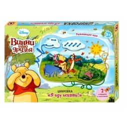 фото Игра развивающая для малыша Русский стиль «Шнуровка. Винни и его друзья Дисней»