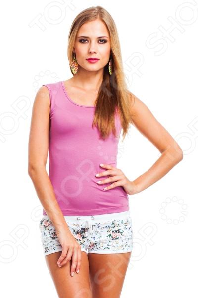 Майка Mondigo 326. Цвет: темно-розовый
