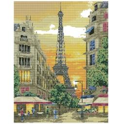 фото Набор для вышивания Белоснежка «Париж»