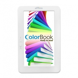 фото Книга электронная Effire Color Book TR702. Цвет: белый
