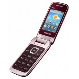 фото Мобильный телефон Samsung GT-C3592. Цвет: красный