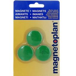 фото Набор магнитов в блистере Magnetoplan Magnum. Цвет: зеленый