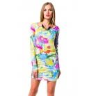 Фото Платье Mondigo 8655. Цвет: желтый. Размер одежды: 44