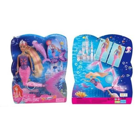 Купить Кукла интерактивная Defa «Русалка» 8243