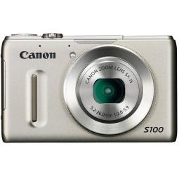 фото Фотокамера цифровая Canon PowerShot S100. Цвет: серебристый