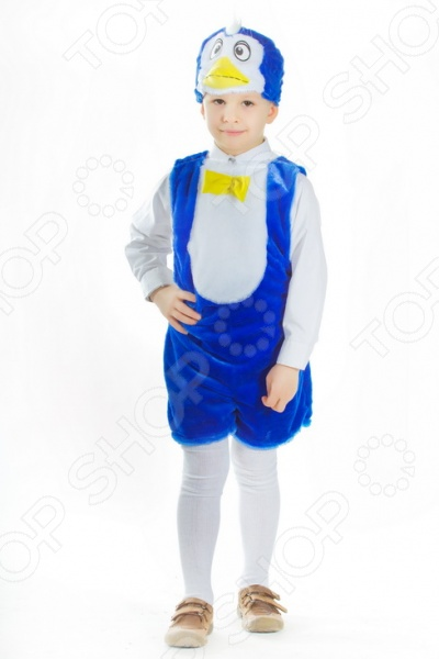 Костюм карнавальный для мальчика Карнавалия Пингвинчик подарит ребенку ощущение настоящего перевоплощения, перенося мальчика в новый, еще неизведанный сказочный мир. Облачившись в необычного героя, ребенок получает возможность почувствовать себя в совершенно другой роли. Подобные перевоплощения очень полезны для детского развития, они помогают освоить коммуникативные навыки, стать более общительным и уверенным в себе.