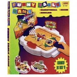 Купить Настольная игра Leon Funny Table Game, 3 в 1