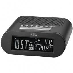 фото Радиочасы AEG MRC 4145 F. Цвет: черный