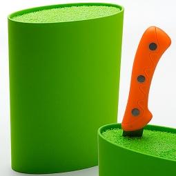 фото Подставка для ножей Mayer&Boch MB-24895. Цвет: зеленый