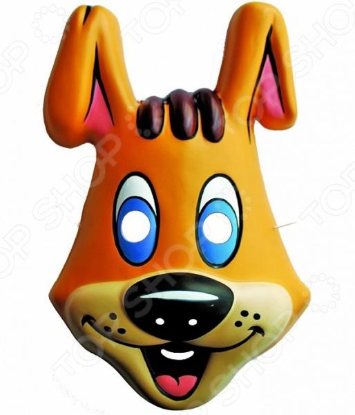 Маска детская Росмэн Шарик. Простоквашино это детализированный элемент карнавального костюма, представляющий собой маску, которая вызовет настоящий восторг у всех юных поклонников преображения. Маска очень практичная, ваш ребенок всё увидит через глазницы существа. Если у него будет костюм в едином стиле с маской, то приз на любом конкурсе костюмов ему обеспечен. Эти маски могут понравится как девочкам, так и мальчикам, ведь все дети любят чувствовать себя кем-то другим.