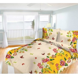 фото Комплект постельного белья Олеся «Лето». 1,5-спальный