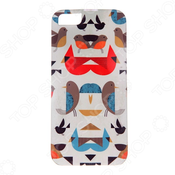 Чехол для iPhone 5 Mitya Veselkov «Птички-невелички» чехол для iphone 5 mitya veselkov птички невелички