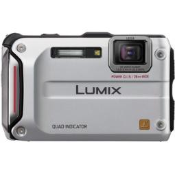 фото Фотокамера цифровая Panasonic Lumix DMC-FT4. Цвет: серебристый