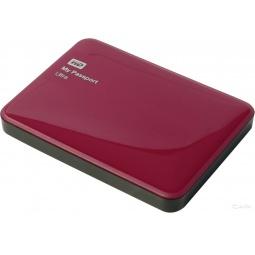 фото Внешний жесткий диск Western Digital My Passport Ultra 1Tb. Цвет: красный