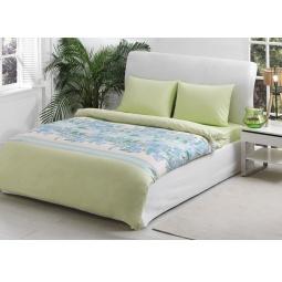 фото Комплект постельного белья TAC Croise. Евро. Цвет: зеленый