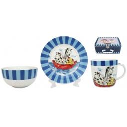 Купить Набор посуды для детей Elan Gallery «Веселые мореплаватели»