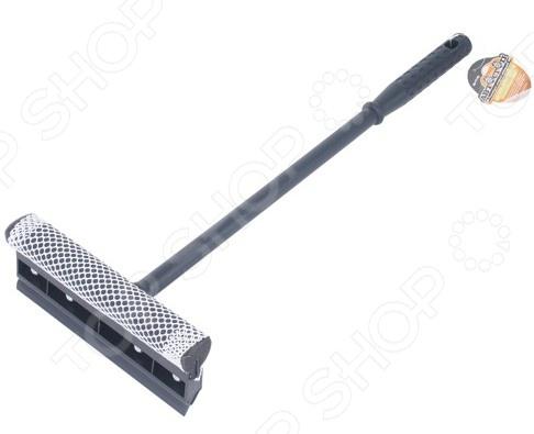 Щетка для мойки с губкой и сгоном для воды Автостоп AB-1711B щетка для мытья автомобиля с подачей воды stels 55222