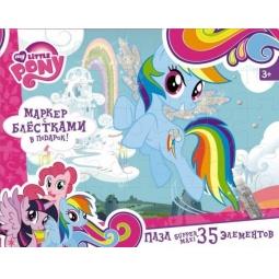 фото Пазл 35 элементов Оригами 2110 My Little Pony с маркером