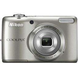 фото Фотокамера цифровая Nikon CoolPix L26. Цвет: серебристый