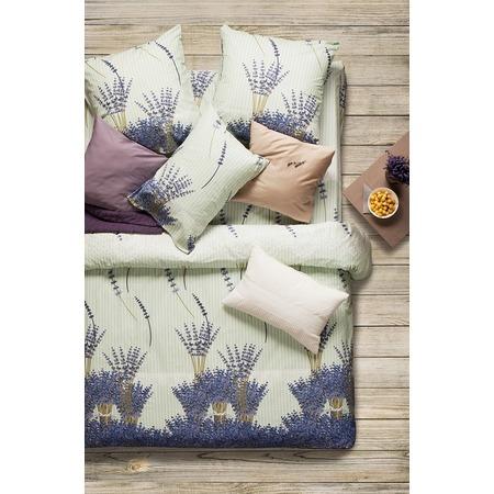 Купить Комплект постельного белья Сова и Жаворонок Premium «Лаванда». 1,5-спальный