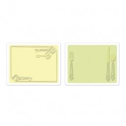 Купить Форма для эмбоссирования Sizzix Textured Impressions Ключи и столовые приборы