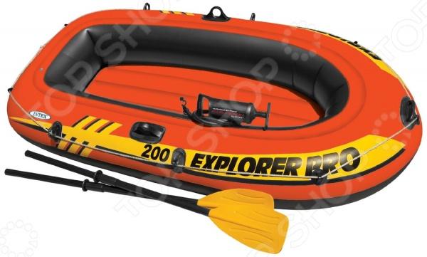 Лодка надувная Intex Explorer Pro 200 лодка надувная лидер 430 зеленая