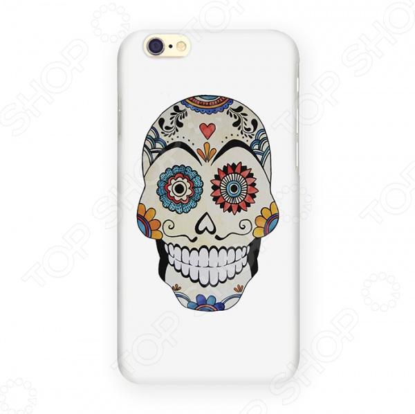 Чехол для iPhone 6 Mitya Veselkov «Мексиканский череп» чехлол для ipad iphone mitya veselkov чехол для iphone 6 гагарин ip6 мitya 016