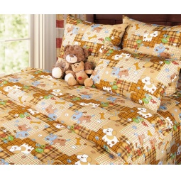 Купить Детский комплект постельного белья Бамбино «Тузик»