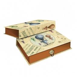 фото Шкатулка-коробка подарочная Феникс-Презент «Воздушный шар». Размер: S (18х12 см). Высота: 5 см