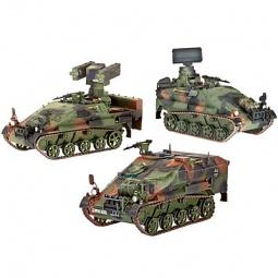 Купить Сборные модели самоходных установок Revell WIESEL 2 LeFlaSys «Ozelot и AFF & BF/UF»