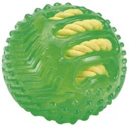 фото Игрушка для собак Beeztees «Мяч с вшитой веревкой» 625831