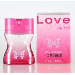 фото Туалетная вода-спрей для женщин Morgan Love. Объем: 35 мл