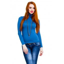 фото Водолазка Mondigo 046. Цвет: джинсовый. Размер одежды: 42