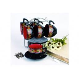Купить Чайный набор на подставке Фарфоровый путь «Клубника»