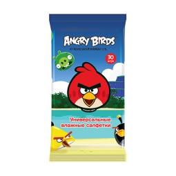 фото Салфетки влажные универсальные Angry Birds №30