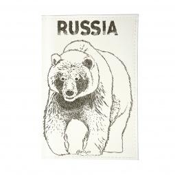 фото Визитница Mitya Veselkov «Медведь»